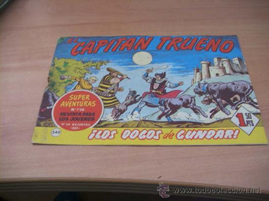 CAPITAN TRUENO ( ORIGINAL ) Nº 340 (Tebeos y Comics - Bruguera - Capitán Trueno)