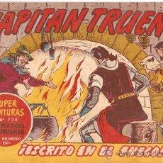 Tebeos: EL CAPITAN TRUENO Nº 341. ORIGINAL. EDITORIAL BRUGUERA.. Lote 9631620