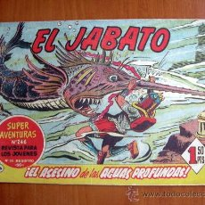 Tebeos: EL JABATO, Nº 66 - EDITORIAL BRUGUERA 1958. Lote 9654179