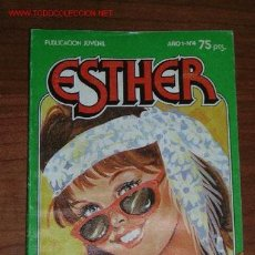Tebeos: TEBEO POCKET ESTHER Nº. 4. Lote 12311676