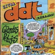 Tebeos: REVISTA JUVENIL -DDT -EXTRA , GRANDES REBAJAS,AÑO XXXIV ENERO DE 1985. Lote 1149689