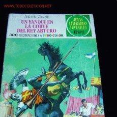 Tebeos: JOYAS LITERARIAS JUVENILES UN YANQUI EN LA CORTE DEL REY ARTURO. Lote 5193154