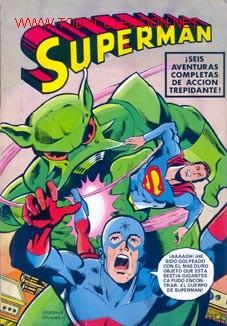 SUPERMAN ALBUM NUMERO 6. EDITORIAL BRUGUERA (Tebeos y Comics - Bruguera - Otros)