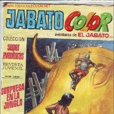 Tebeos: TEBEO JABATO COLOR-COLECCIÓN SUPER-AVENTURAS-Nº 1896. Lote 2393063