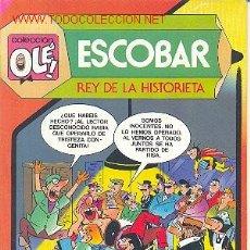 Tebeos: COLECCION OLE Nº 299 - ESCOBAR REY DE LA HISTORIETA. Lote 11705279