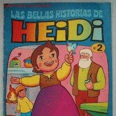Tebeos: LAS BELLAS HISTORIAS DE HEIDI. Nº 2. LA TORMENTA. Lote 2879799