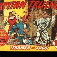 Tebeos: EL CAPITAN TRUENO Nº164,SUPER AVENURAS,EDITORIAL BRUGUERA 1959 -¡TRAMPA DEL LODO!. Lote 3732422