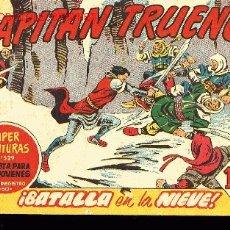Tebeos: EL CAPITAN TRUENO Nº272. SUPER AVENURAS,EDITORIAL BRUGUERA 1961 -¡BATALLA EN LA NIEVE!. Lote 3772639