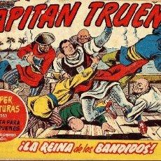 Tebeos: EL CAPITAN TRUENO Nº280 . SUPER AVENURAS,EDITORIAL BRUGUERA 1962 -¡LA REINA DE LOS BANDIDOS!. Lote 2959869