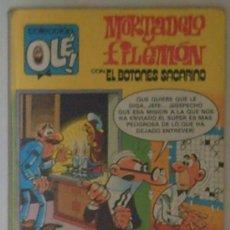 Tebeos: MORTADELO Y FILEMÓN CON EL BOTONES SACARINO (COLECCIÓN OLÉ)EDIT.BRUGUERA-AÑO 1981. Lote 3024347