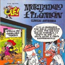 Tebeos: MORTADELO Y FILEMON CLINICAS ANTIBIRRIA. COLECCION OLE NUMERO 46. Lote 27125400