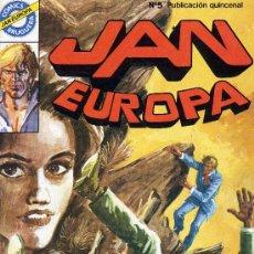 Tebeos: JAN EUROPA Nº 5. EDITORIAL BRUGUERA, 1984. Lote 16482548