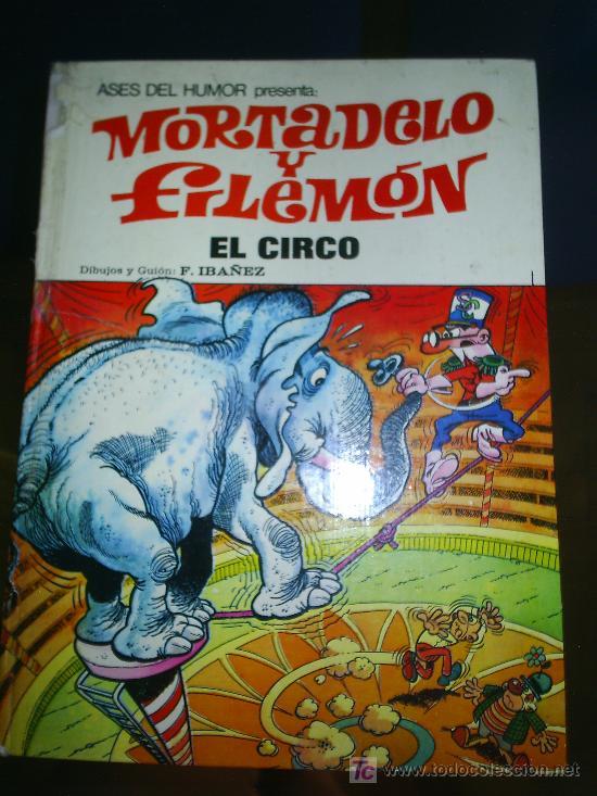 M69 ASES DEL HUMOR MORTADELO Y FILEMON EL CIRCO NUMERO 27 (Tebeos y Comics - Bruguera - Mortadelo)