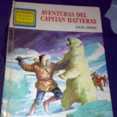 Tebeos: 'AVENTURAS DEL CAPITÁN HATTERAS', DE JULIO VERNE. 1ª EDICIÓN. TAPAS DURAS.. Lote 9785728
