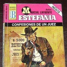 Tebeos: CONFESIONES DE UN JUEZ-MARCIAL LAFUENTE-COLECCION ESTEFANIA-HEROES DEL OESTE-ED.BRUGUERA. Lote 9816376