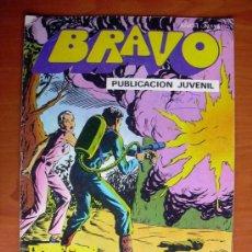 Tebeos: BRAVO - INSPECTOR DAN, Nº 9 - EDITORIAL BRUGUERA 1976. Lote 9876793