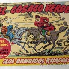 Tebeos: EL COSACO VERDE Nº 1 LOS BANDIDOS KURDOS EDITORIAL BRUGUERA 1960 FACSÍMIL. Lote 38032045