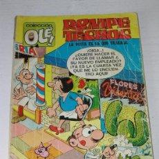 Tebeos: ROMPETECHOS - COLECCION OLE Nº 14 EN LOMO - LA VISTA ES LA QUE TRABAJA - EDITORIAL BRUGUERA 1975. Lote 16218391