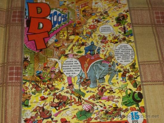 DDT EXTRA PRIMAVERA 1971. BRUGUERA 15 PTS. (Tebeos y Comics - Bruguera - DDT)