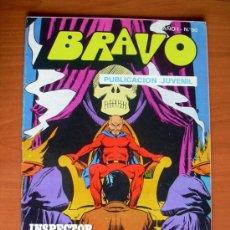 Tebeos: BRAVO - INSPECTOR DAN, Nº 25 - EDITORIAL BRUGUERA 1976. Lote 10121299