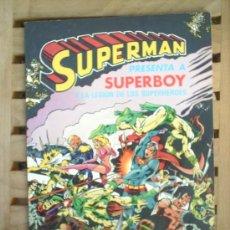 Tebeos: ALBUM SUPERMAN-N.5 -BRUGUERA -1980. Lote 25407712