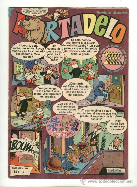 MORTADELO, EDITORIAL BRUGUERA NÚMERO: 319 (Tebeos y Comics - Bruguera - Mortadelo)