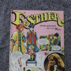 Tebeos: ESTHER REVISTA QUINCENAL AÑO 1 Nº 17, 1982 ED. BRUGUERA 52 PAGINAS EN COLOR. Lote 10538393