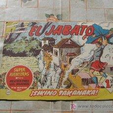 Tebeos: EL JABATO N-147,ORIGINAL. Lote 10543084