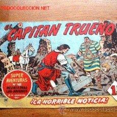Tebeos: CAPITAN TRUENO Nº 141 BRUGUERA ORIGINAL DE AMBROS. Lote 26921620
