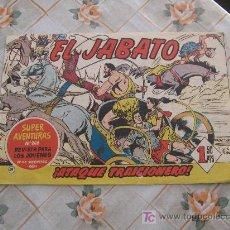 Tebeos: EL JABATO N-49,ORIGINAL . Lote 10585141
