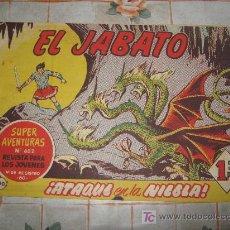 Tebeos: EL JABATO N-190,ORIGINAL.. Lote 10599241