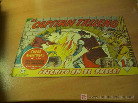 EL CAPITAN TRUENO ( ORIGINAL ) Nº 341 (Tebeos y Comics - Bruguera - Capitán Trueno)