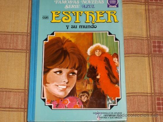 ESTHER Nº 1. FAMOSAS NOVELAS SERIE AZUL. BRUGUERA. DIFÍCIL Y . RAREZA, ENTRA Y LEE... (Tebeos y Comics - Bruguera - Esther)