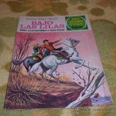 Tebeos: JOYAS LITERARIAS JUVENILES,BAJO LAS LILAS LOUISE MAY ALCOTT,EDITORIAL BRUGUERA 1976. Lote 10761244