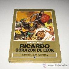 Tebeos: HISTORIAS COLOR - BRUGUERA. RICARDO CORAZON DE LEON. Lote 26057732