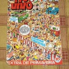 Tebeos: TIO VIVO EXTRA PRIMAVERA 1972. BRUGUERA 16 PTS. REGALO EXTRA 68 REGOCIJOHILARANTE. 1984. 125 PTS.. Lote 14338199