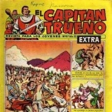 Tebeos: EL CAPITÁN TRUENO EXTRA - AÑO II Nº 57 - ED. BRUGUERA 1961 - ORIGINAL, NO FACSIMIL. Lote 11058599