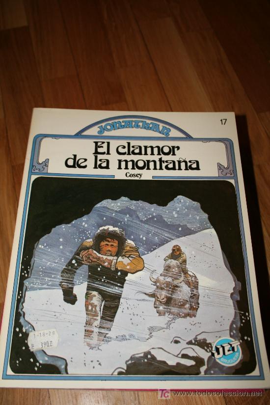 EL CLAMOR DE LA MONTAÑA. COSEY. BRUGUERA (Tebeos y Comics - Bruguera - Otros)