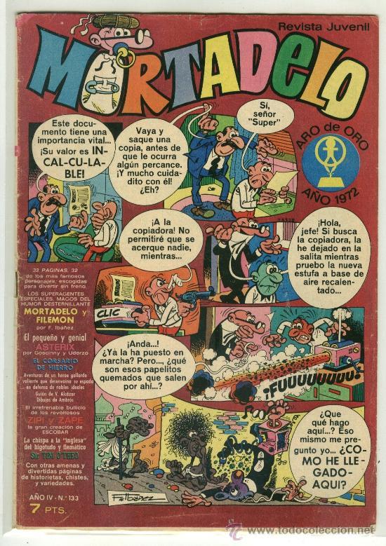 MORTADELO Nº 133 - EDITORIAL BRUGUERA (Tebeos y Comics - Bruguera - Mortadelo)