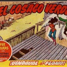 Tebeos: EL COSACO VERDE Nº 80 - MORA/COSTA - EDITORIAL BRUGUERA 1960/61 - ORIGINAL, NO FACSIMIL. Lote 11321460