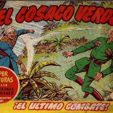 Tebeos: EL COSACO VERDE Nº 53 - MORA/COSTA - EDITORIAL BRUGUERA 1960/61 - ORIGINAL, NO FACSIMIL. Lote 11321481
