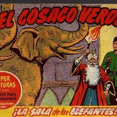Tebeos: EL COSACO VERDE Nº 52 - MORA/COSTA - EDITORIAL BRUGUERA 1960/61 - ORIGINAL, NO FACSIMIL. Lote 11321499
