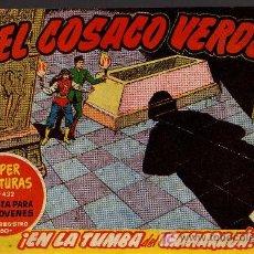 Tebeos: EL COSACO VERDE Nº 51 - MORA/COSTA - EDITORIAL BRUGUERA 1960/61 - ORIGINAL, NO FACSIMIL. Lote 11321582