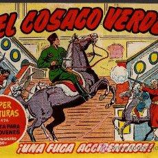 Tebeos: EL COSACO VERDE Nº 49 - MORA/COSTA - EDITORIAL BRUGUERA 1960/61 - ORIGINAL, NO FACSIMIL. Lote 11321615