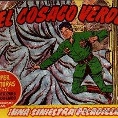 Tebeos: EL COSACO VERDE Nº 48 - MORA/COSTA - EDITORIAL BRUGUERA 1960/61 - ORIGINAL, NO FACSIMIL. Lote 11321635