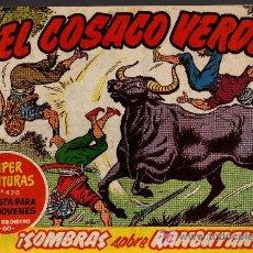 Tebeos: EL COSACO VERDE Nº 47 - MORA/COSTA - EDITORIAL BRUGUERA 1960/61 - ORIGINAL, NO FACSIMIL. Lote 11321651
