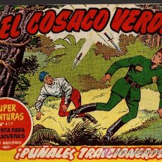 Tebeos: EL COSACO VERDE Nº 46 - MORA/COSTA - EDITORIAL BRUGUERA 1960/61 - ORIGINAL, NO FACSIMIL. Lote 11321943