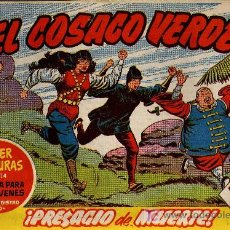 Tebeos: EL COSACO VERDE Nº 45 - MORA/COSTA - EDITORIAL BRUGUERA 1960/61 - ORIGINAL, NO FACSIMIL. Lote 11321969