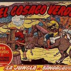 Tebeos: EL COSACO VERDE Nº 44 - MORA/COSTA - EDITORIAL BRUGUERA 1960/61 - ORIGINAL, NO FACSIMIL. Lote 11322007