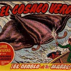 Tebeos: EL COSACO VERDE Nº 43 - MORA/COSTA - EDITORIAL BRUGUERA 1960/61 - ORIGINAL, NO FACSIMIL. Lote 11322021